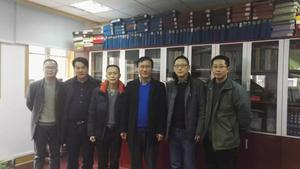 礼涞农业费总、杨总、陈总去武汉大学同专家院士就如何利用肠道益生素替代化学原料药问题进行咨询。